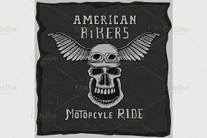 symbol for the biker club