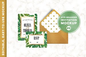 HYP-branded Invitation Mockup #2