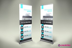 IT Services Roll Up Banner - v021