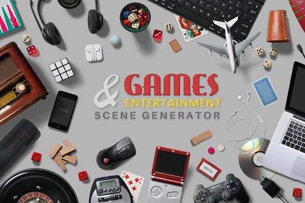 Games & Entertainment Scene Creator
