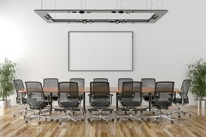 Conference room background