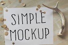 Simple Mockup