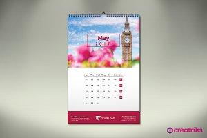 Wall Calendar 2017 - v006