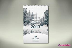 Wall Calendar 2017 - v007