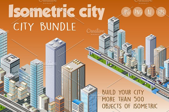 Bundle isometric city