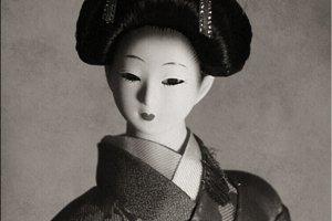 Japanese woman doll