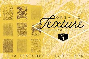 Organic Texture Pack - Volume 1