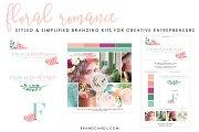 Feminine Branding Logo Kit
