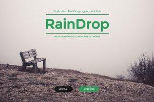 RainDrop - A Multipurpose Theme