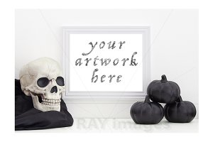 Halloween Frame Print Mockup