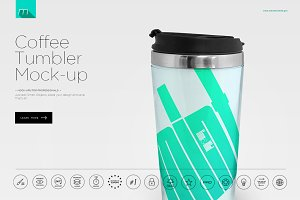 Coffee Tumbler Mock-up