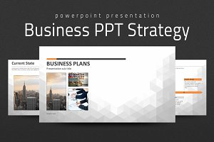 Business PPT Template Strategy