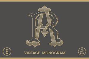 AR Monogram RA Monogram