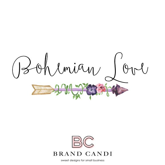 Bohemian Arrow Logo in Logo Templates - product preview 1