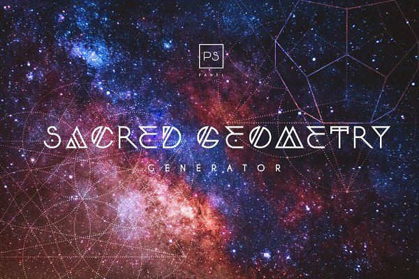 Photoshop Plugins: Pro Add-Ons - Sacred Geometry Generator