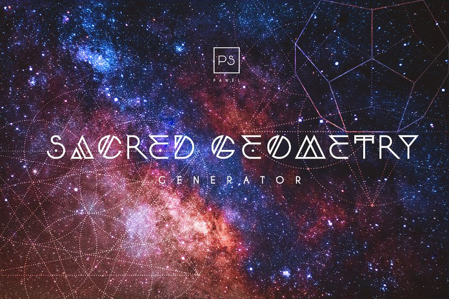 Sacred Geometry Generator ~ Photoshop Add-Ons ~ Creative Market