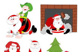Christmas Cartoons Vectors