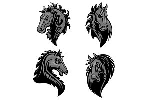 Furious powerful horses