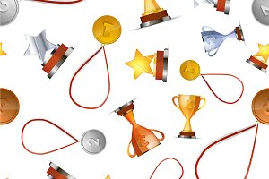A lot of winners awards pattern