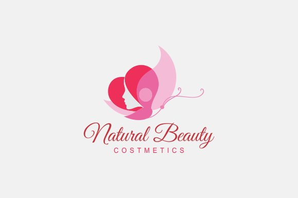 Natural Beauty Logo Templates Creative Market
