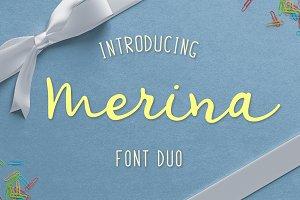 Merina Font Duo