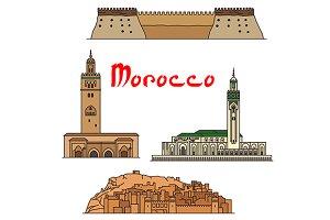 Morocco historic landmarks