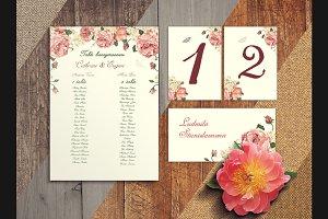 Wedding MockUp Flowers