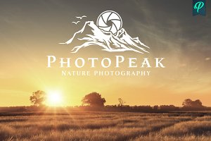 PhotoPeak - Photography Logo Design