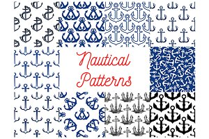 Nautical anchor patterns