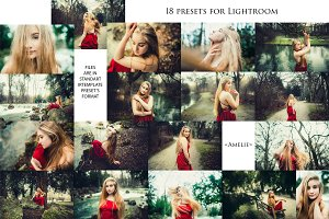 Amelie (part I)-18 Presets for Lr