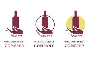 Wine logo company - sales direct