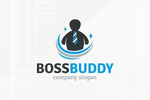 Boss Buddy Logo Template