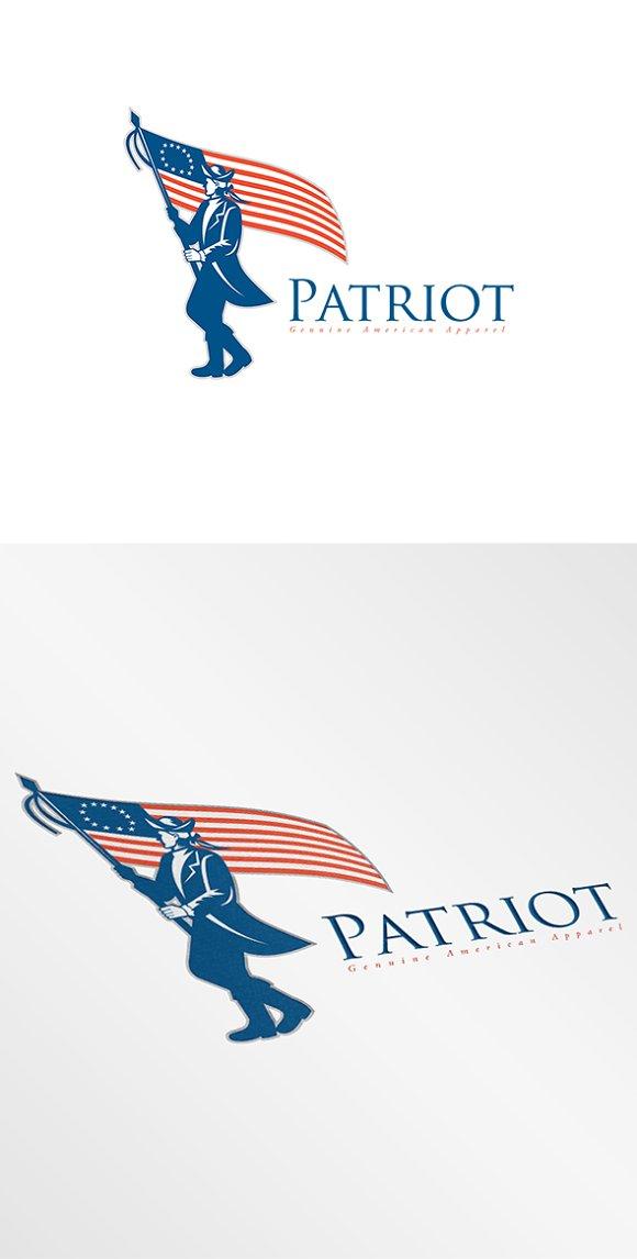 Patriot Genuine American Apparel Log