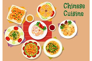Chinese cuisine lunch