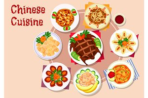 Chinese cuisine meat dishes