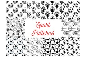 Soccer and football patterns