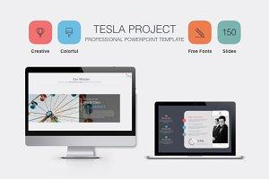 Tesla Powerpoint Presentation Templa