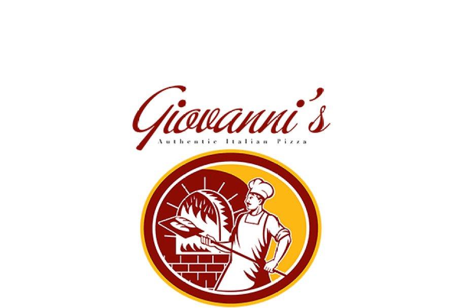 Giovanni's Authentic Italian Logo