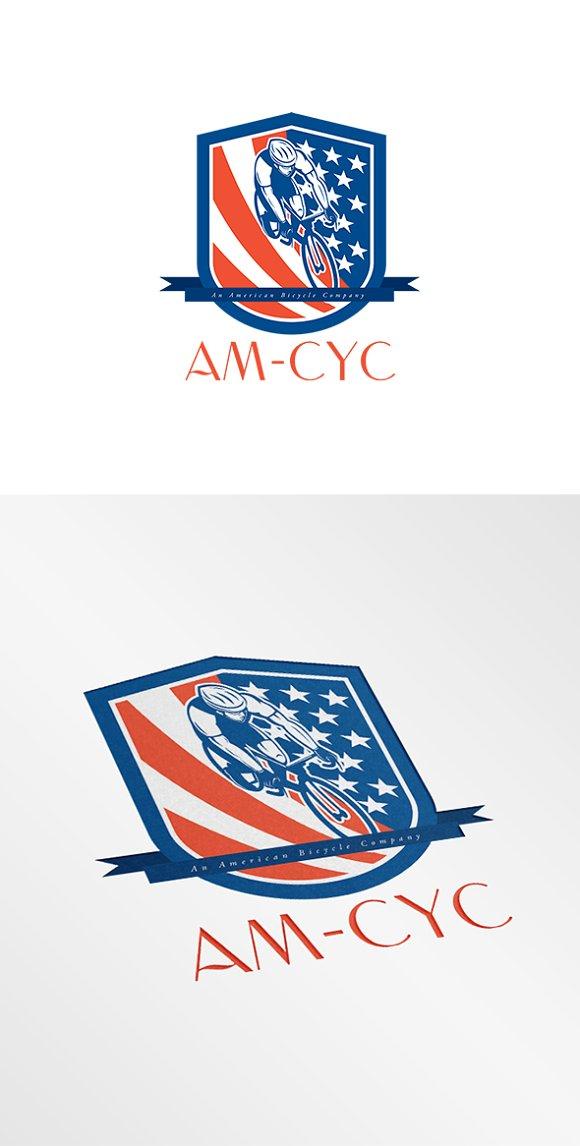 AM-Cyc Bicycle Company Logo