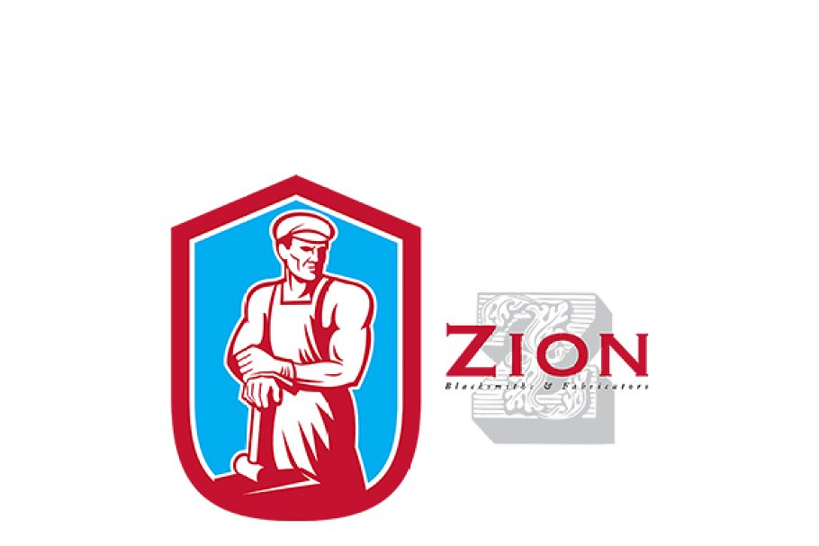 Zion Blacksmiths Logo in Logo Templates