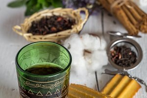 Arabic nana mint tea