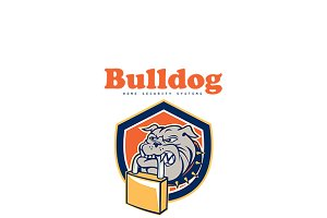Bulldog Home Security Systems Logo