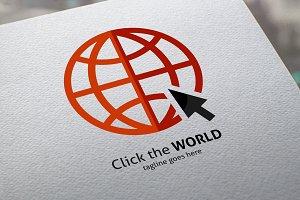 Click The World Logo