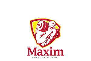 Maxim Gym Fitness Center Logo