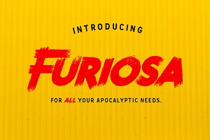 Furiosa - Geometric sans serif