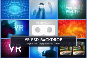 Virtual Reality VR PSD Images