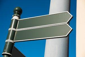 Two irish signpost