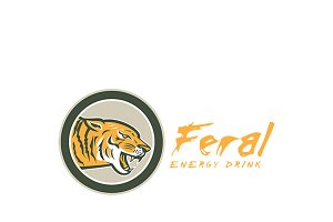 Feral Energy Drink Logo