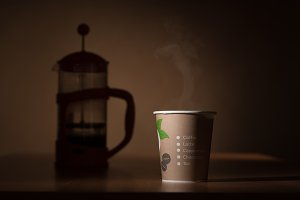 Paper caffee mug