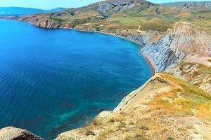 Spring Crimea landscape
